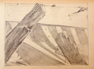 part of a shipwreck 1 drawing