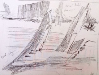 part of a shipwreck 3 drawing