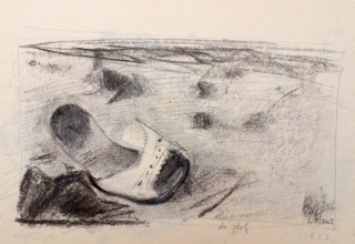 slipper sketch