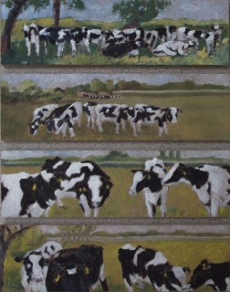 cows four times